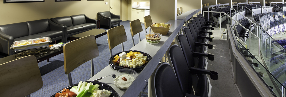 We offer a wide variety of food and menu options for your suite at the Marlies game!