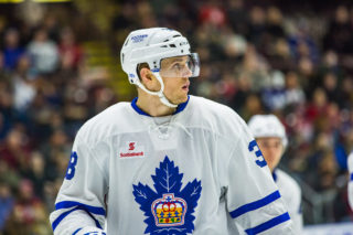Colin Greening Marlies Year in Photos
