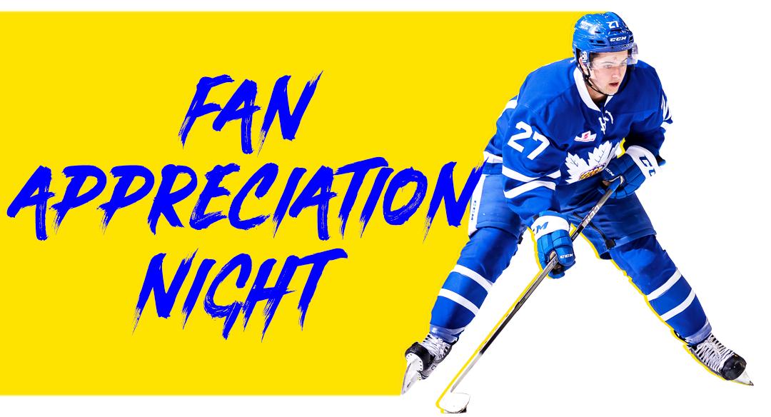 Fan Appreciation Night