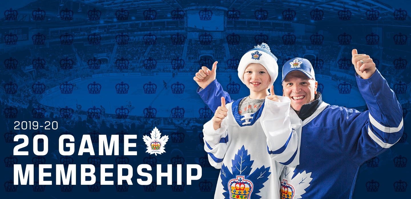 2019-20 20 Game Marlies Memberships