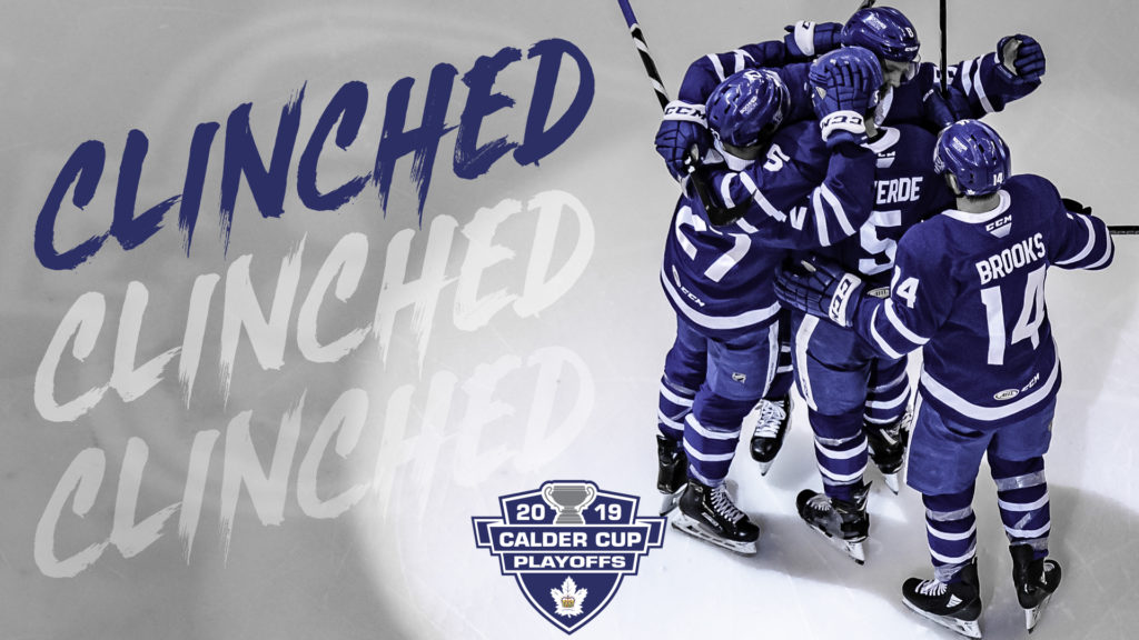 Toronto Marlies Postseason Bound For Eighth Straight Season