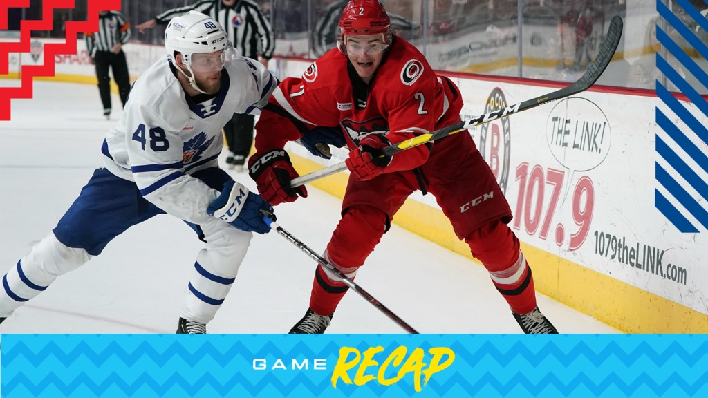 Marlies Fall 5 3 To Checkers In Game Two Toronto Marlies