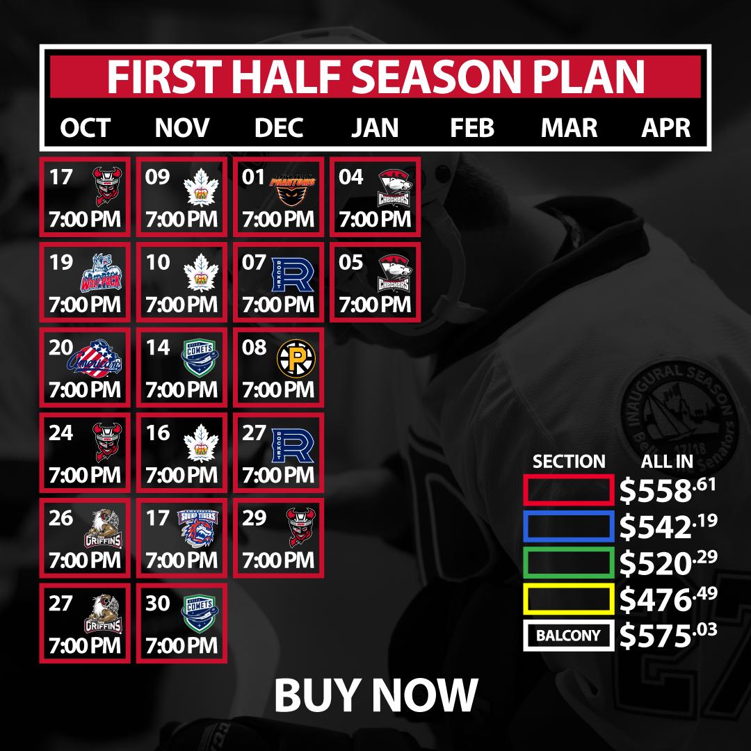 First Half Season Plan