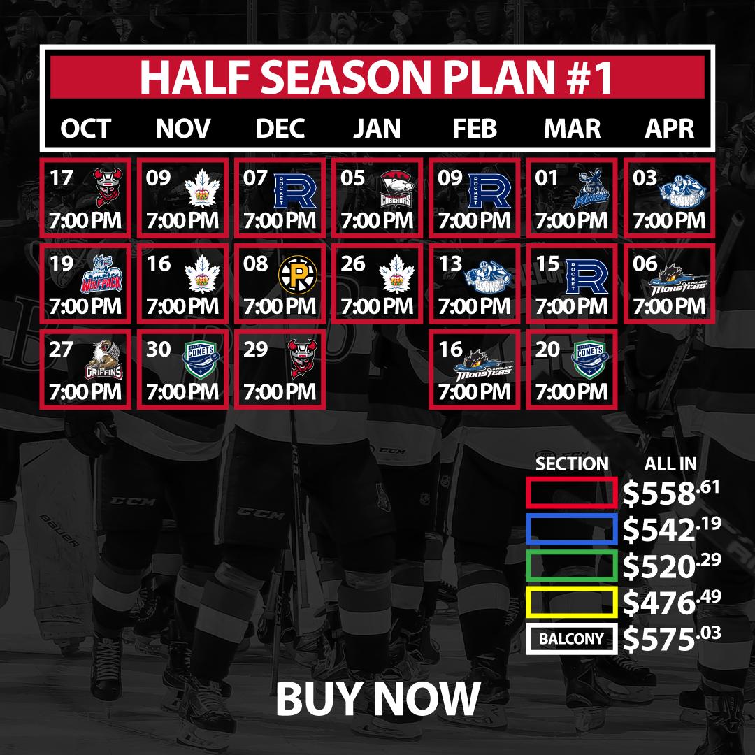 Half Season Plan #1