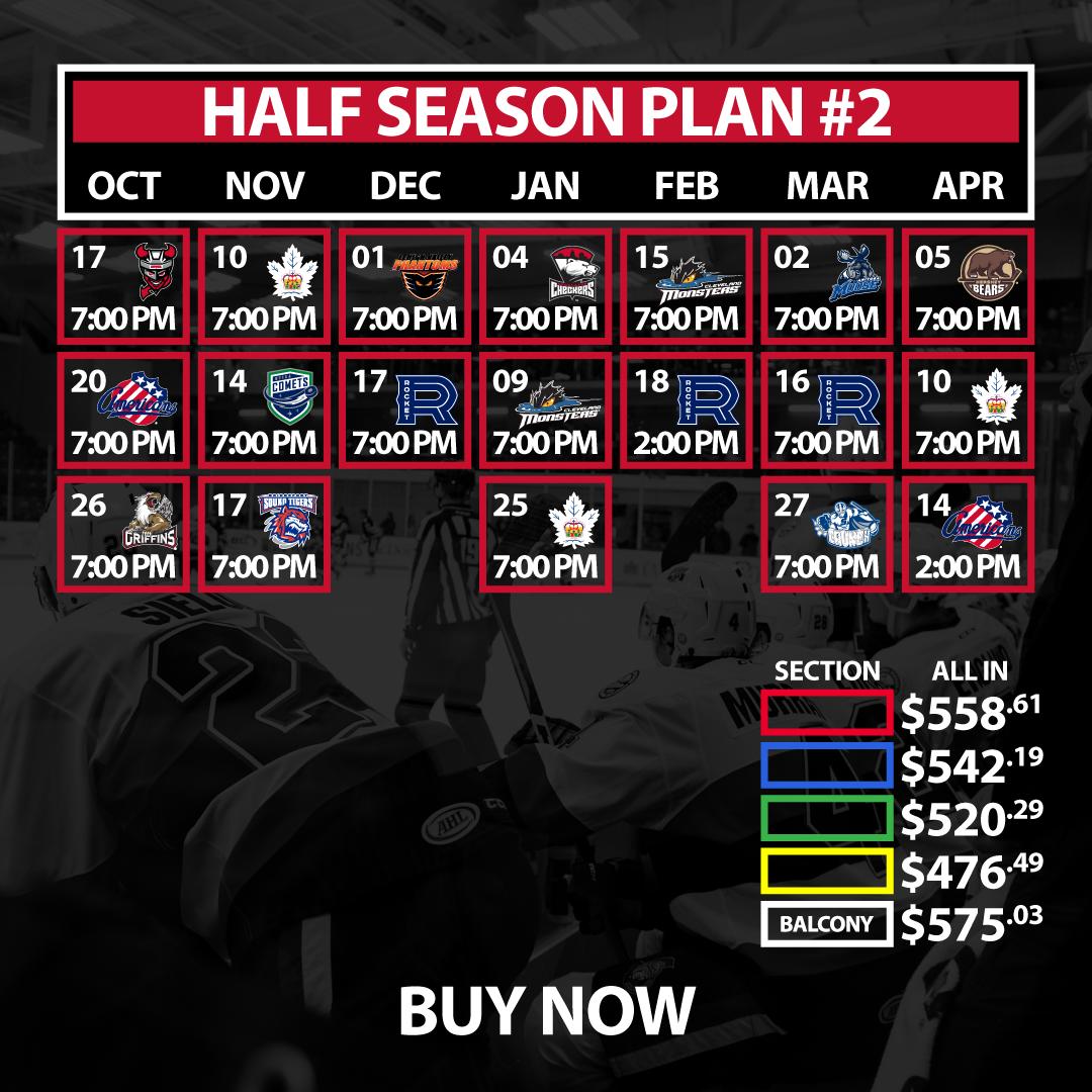 Half Season Plan #2