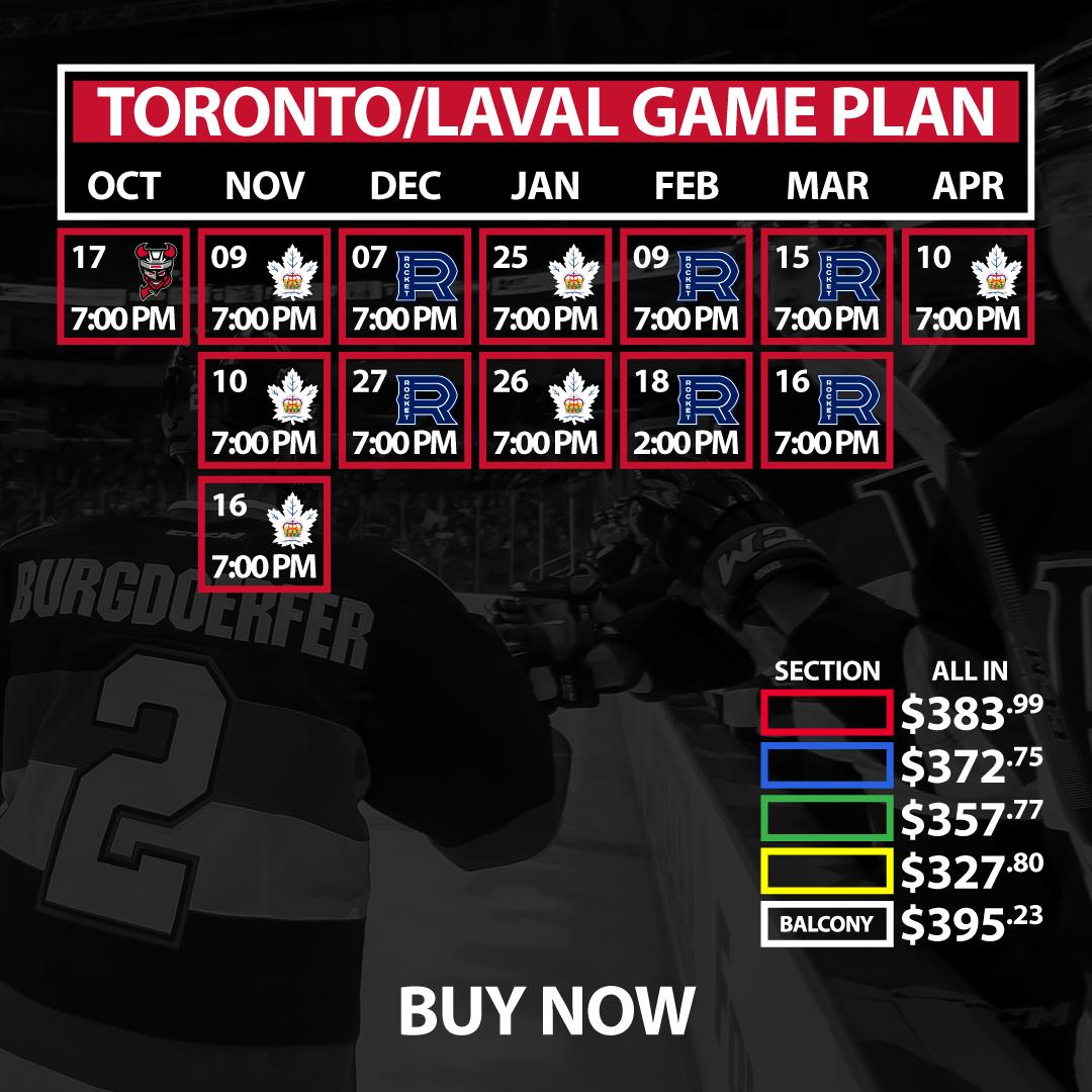 Toronto/Laval Game Plan