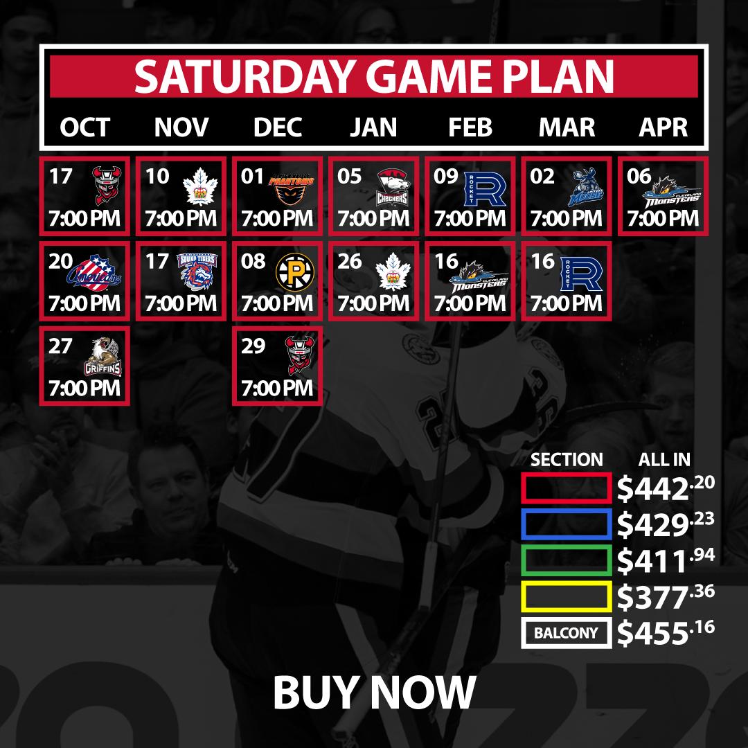 Saturday Game Plan